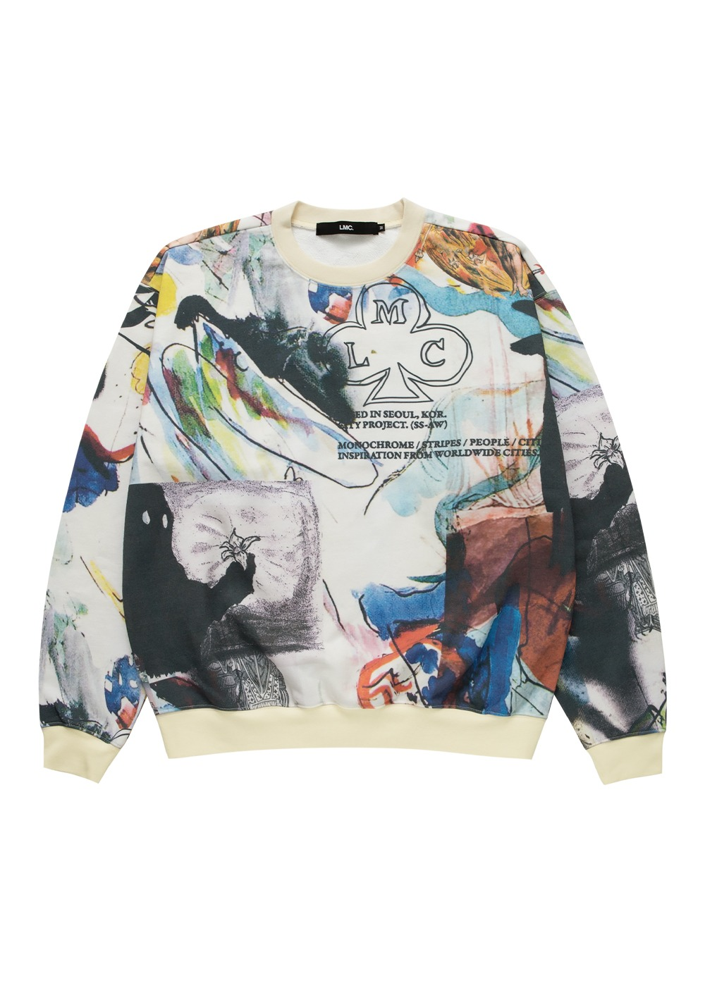 LMC ARTWORKS PAINTING SWEATSHIRTS multi