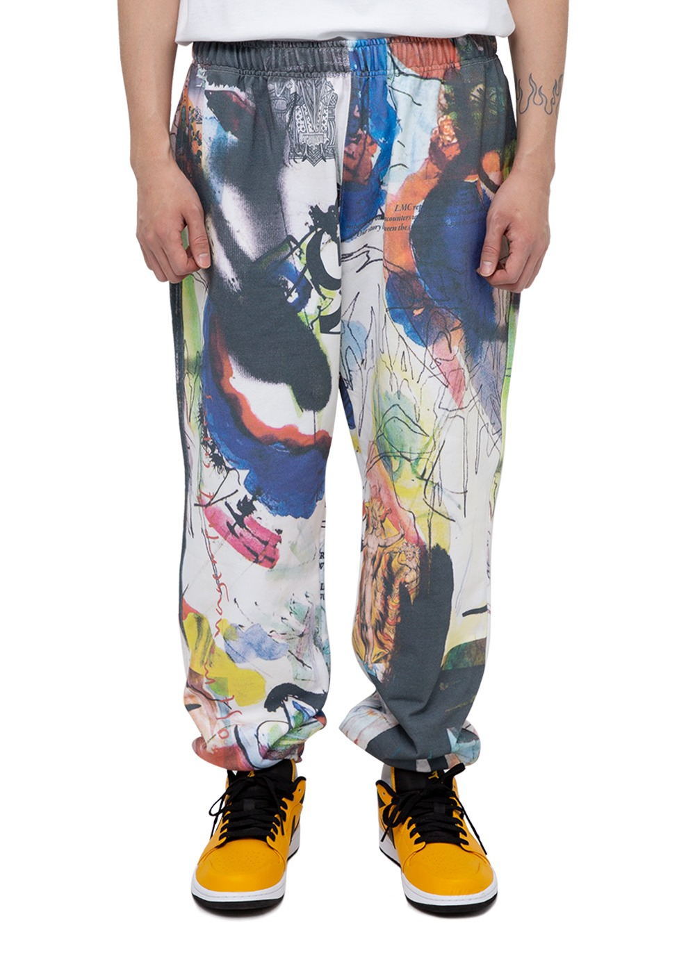 LMC ARTWORKS PAINTING SWEATPANTS multi