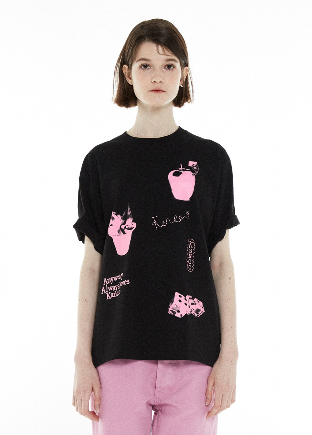 KANCO ADORABLE TEE black