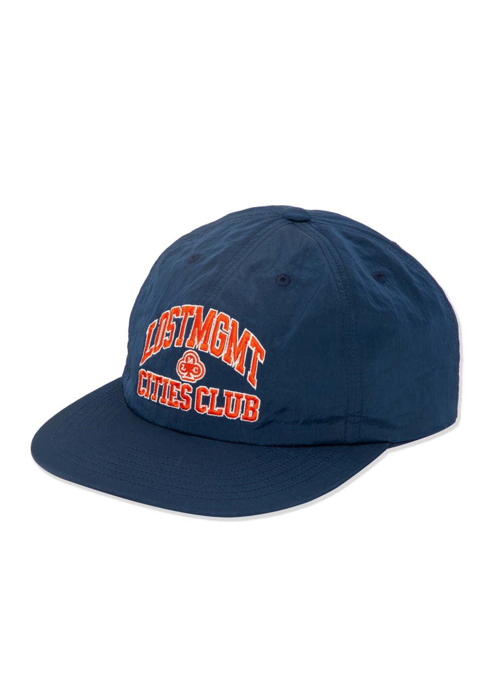 LMC NYLON CLUB ATHLETIC FLAT BILL CAP navy