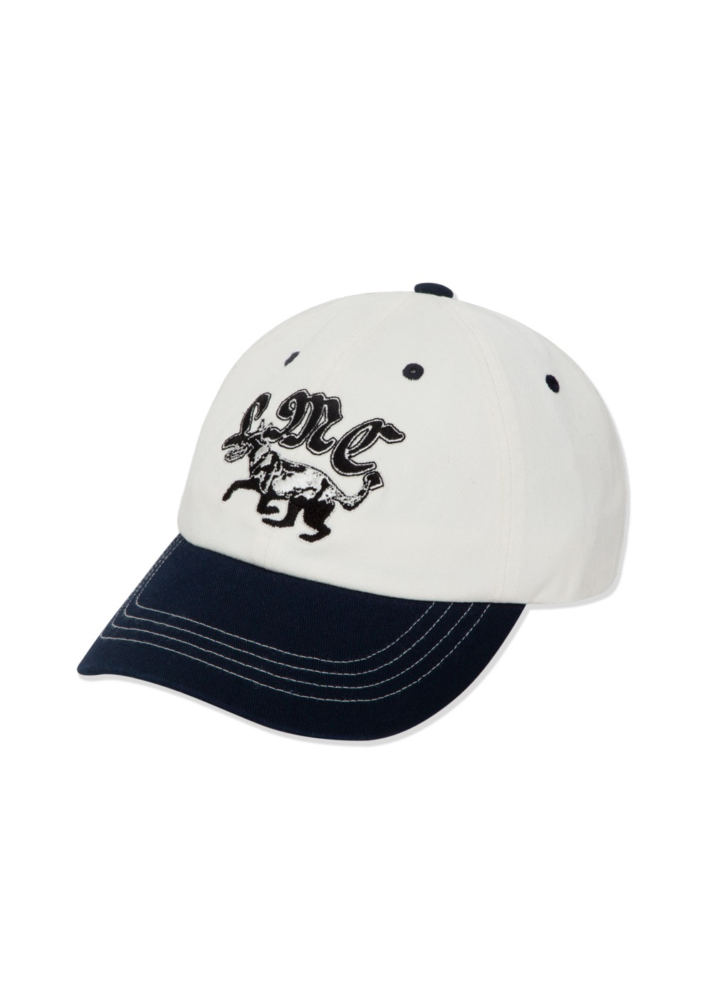 LMC TWO-TONE DOG 6 PANEL CAP navy