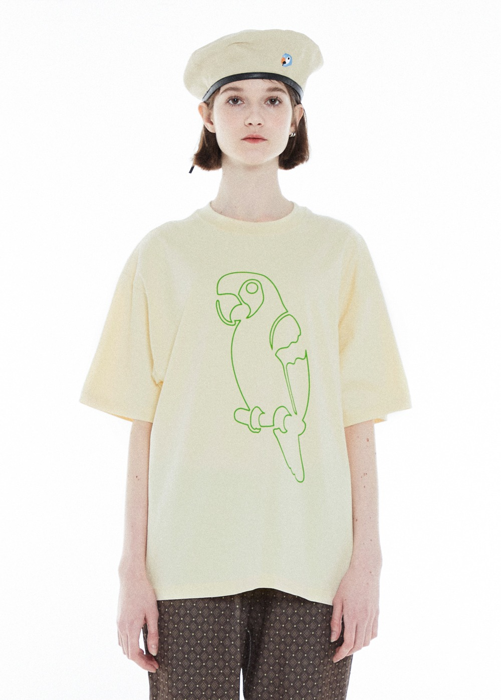 KANCO OUTLINE TEE cream