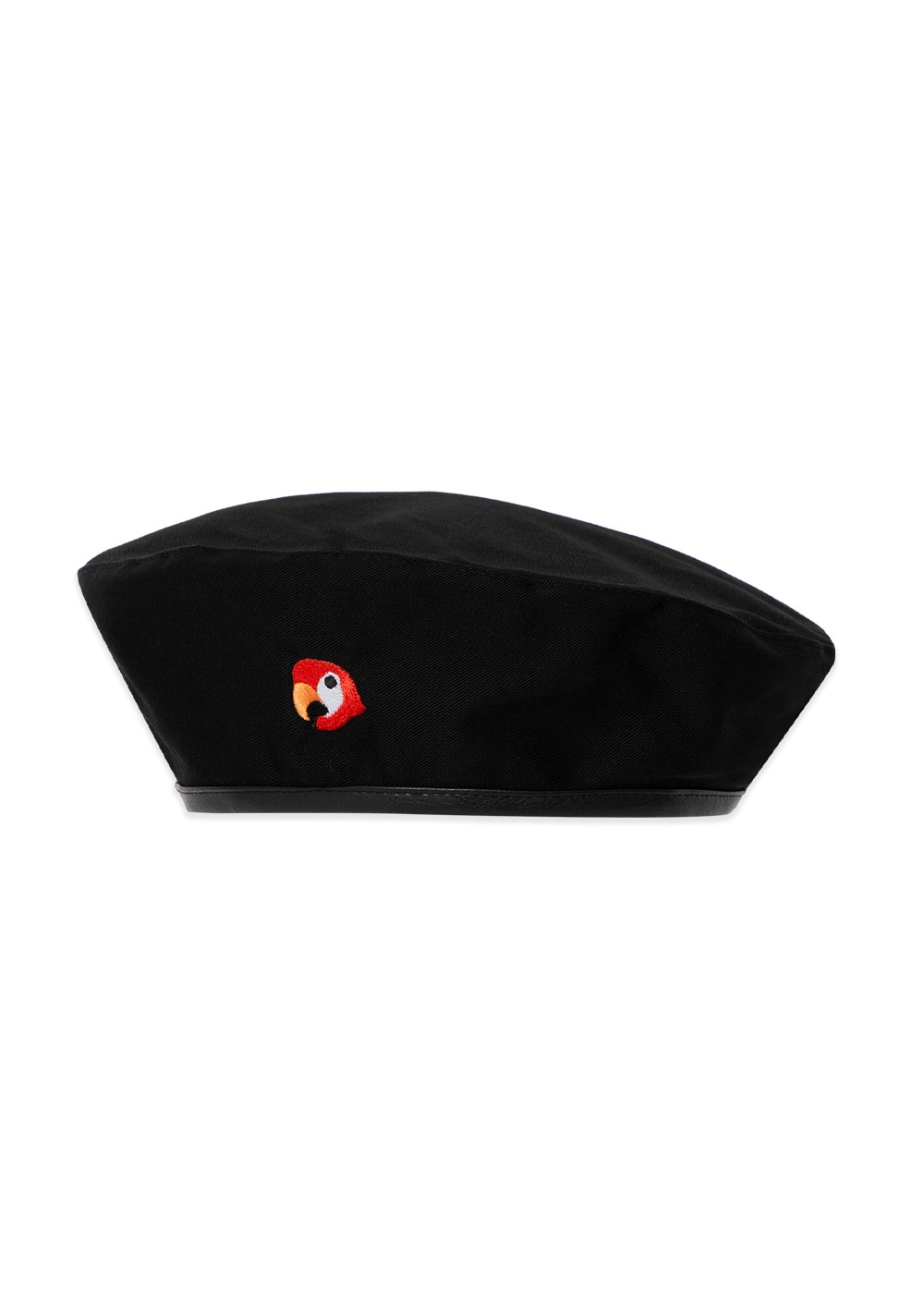 KANCO COTTON BERET black