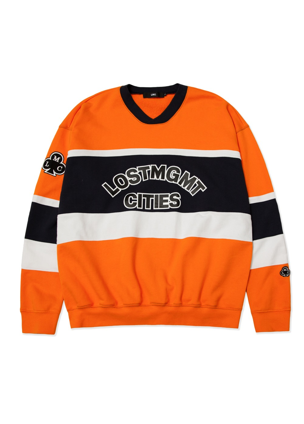 LMC HOCKEY OVERSIZED SWEATSHIRT orange