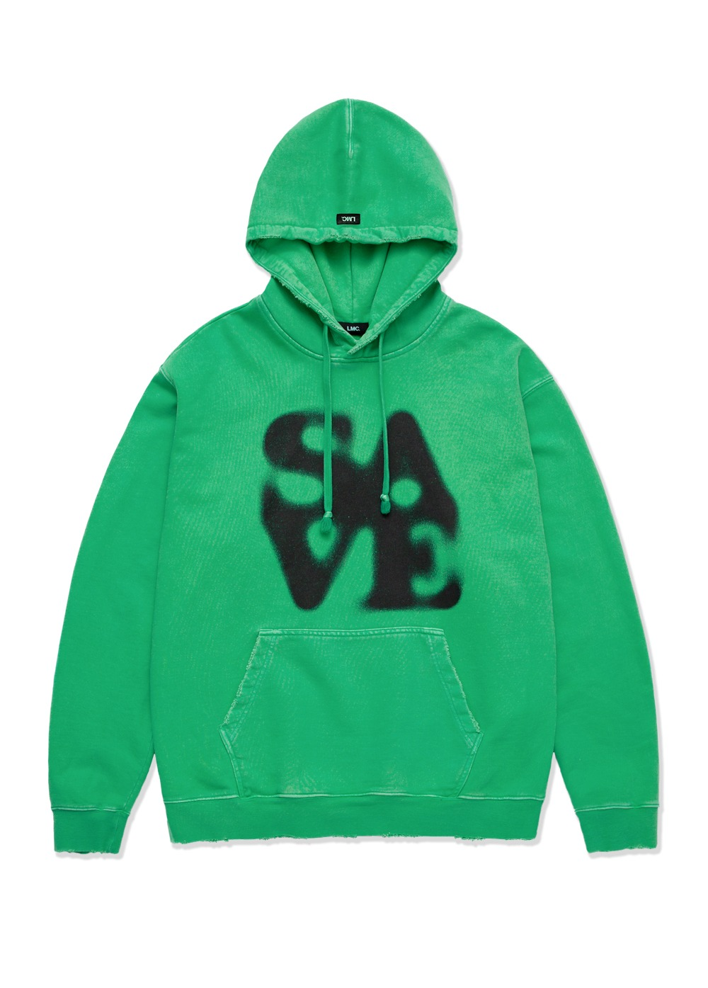 LMC DISTRESSED EDGE SAVE GLOBE HOODIE green