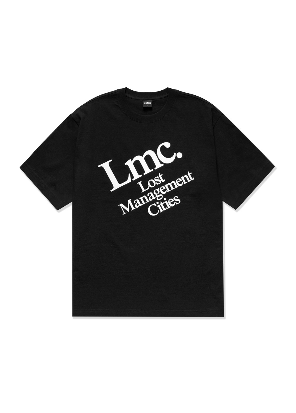 LMC DIAGONAL TEE black