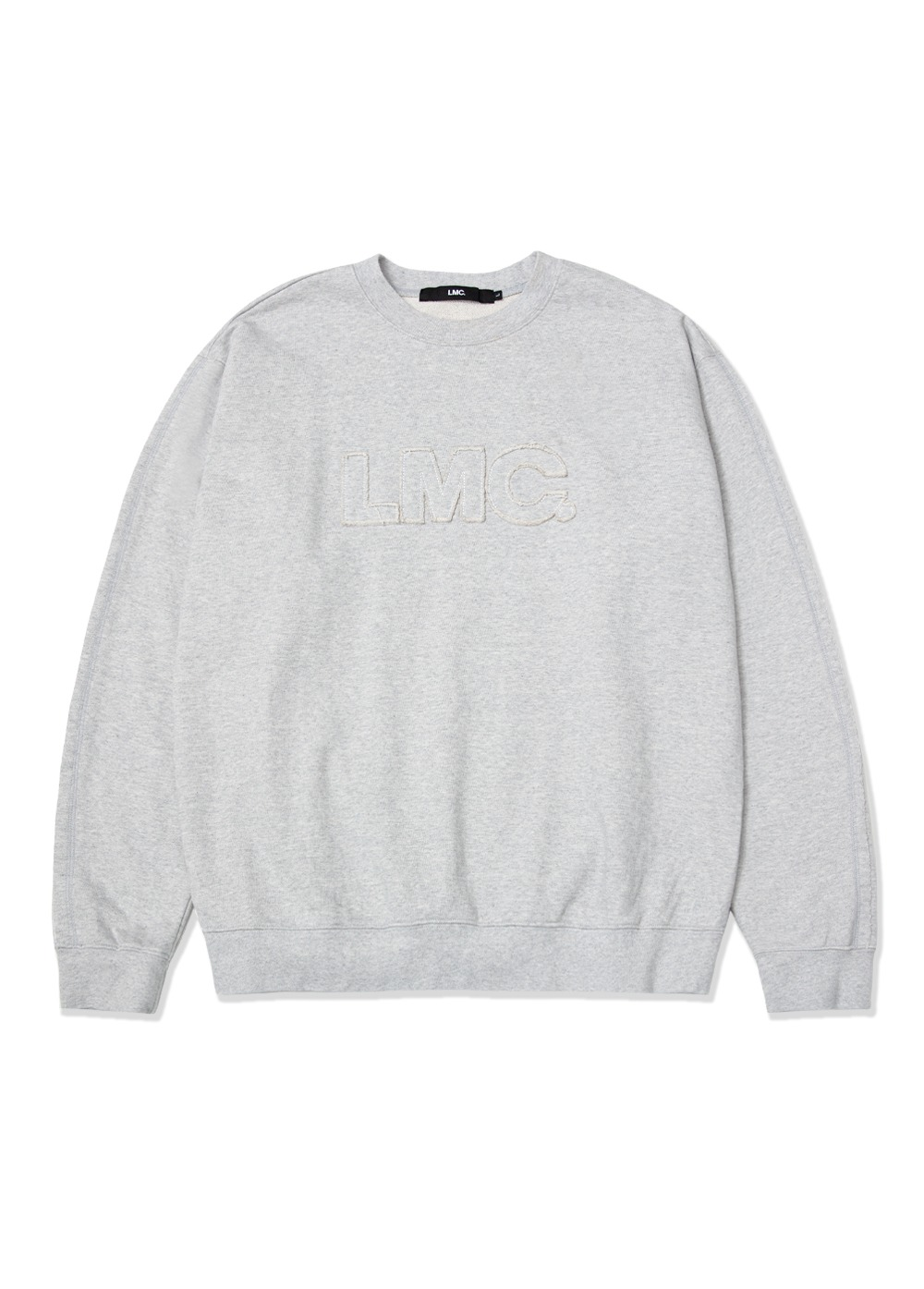 LMC OG APPLIQUE SWEATSHIRT heather gray