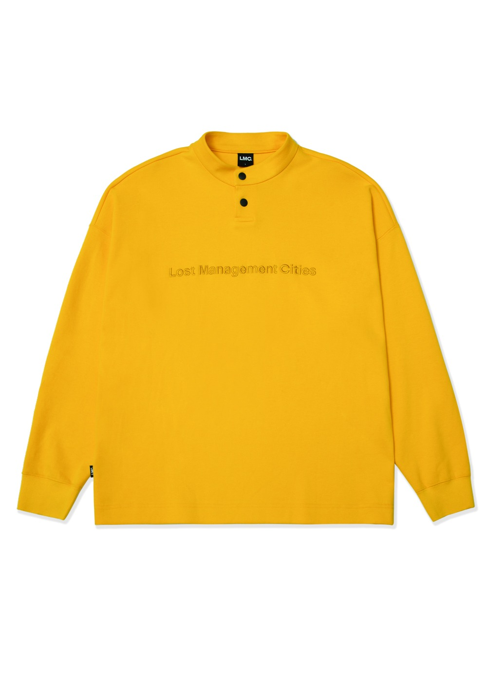 LMC PK PULLOVER LONG SLV TEE yellow
