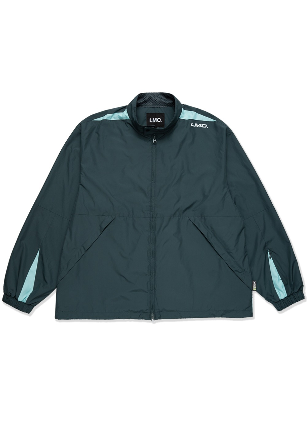 LMC BMD TRACK JACKET teal