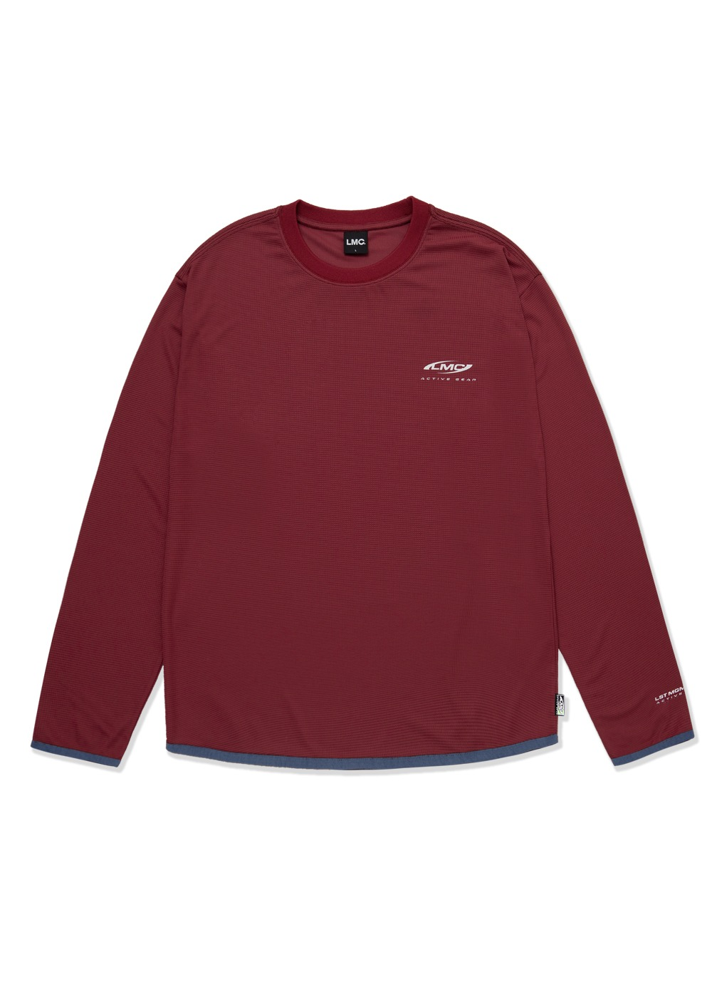 LMC ATB-UV+ ACTIVE GEAR LONG SLV JERSEY burgundy