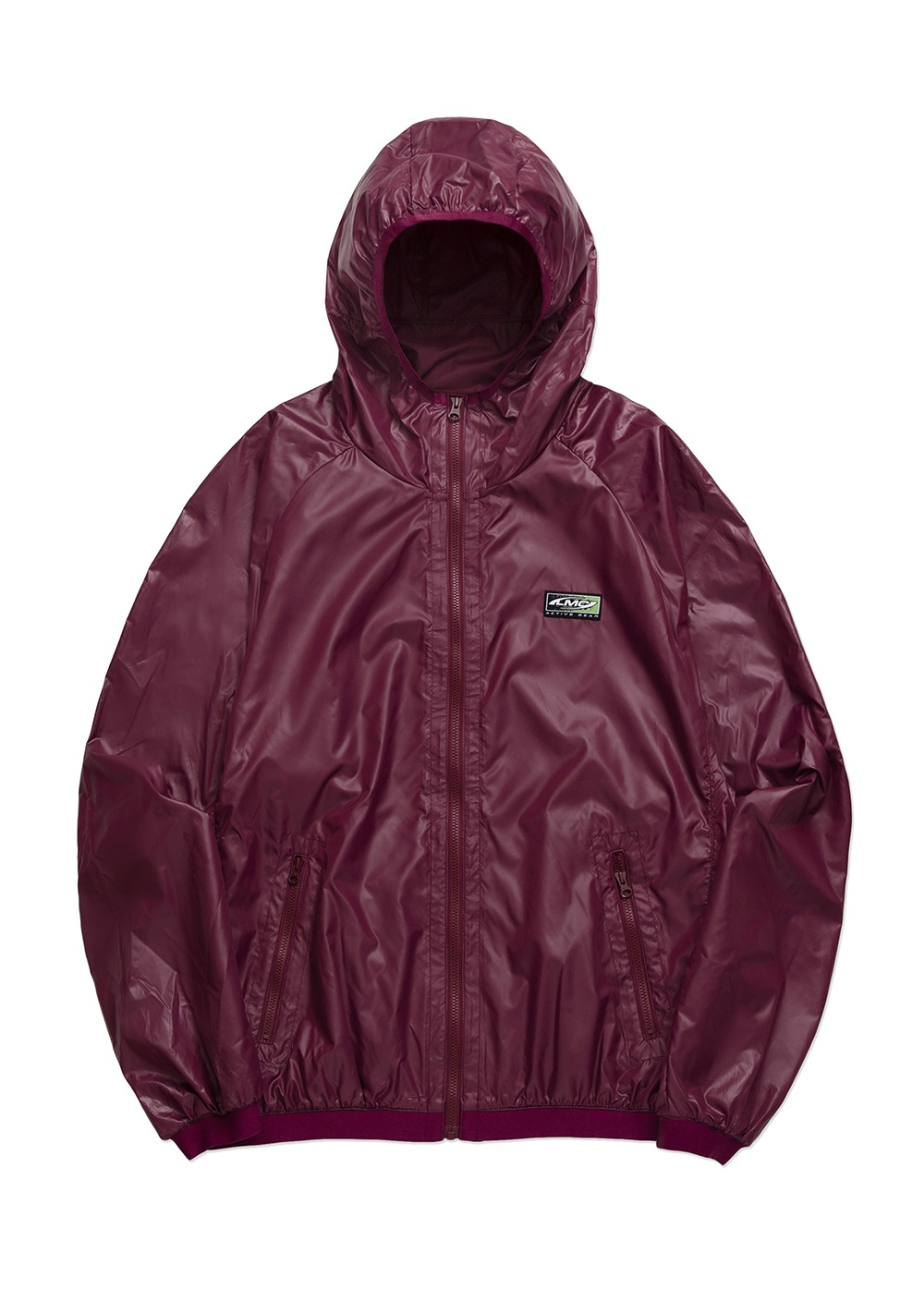 LMC GEAR PACKABLE LIGHTWEIGHT JACKET purple