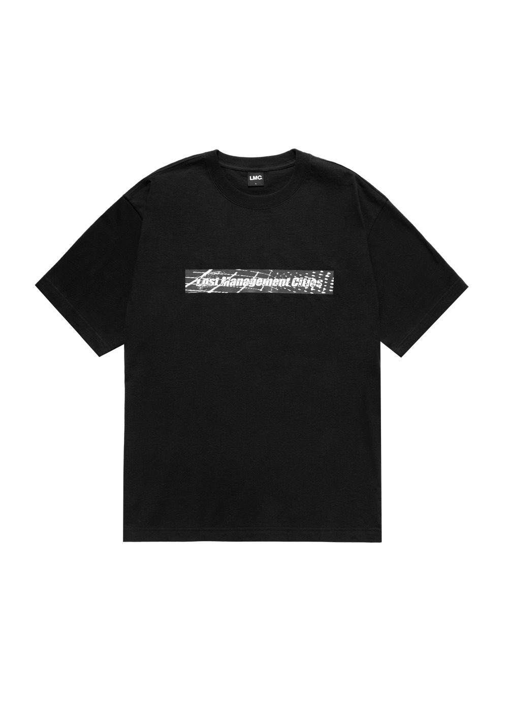 LMC D-NOISE FN BOX TEE black