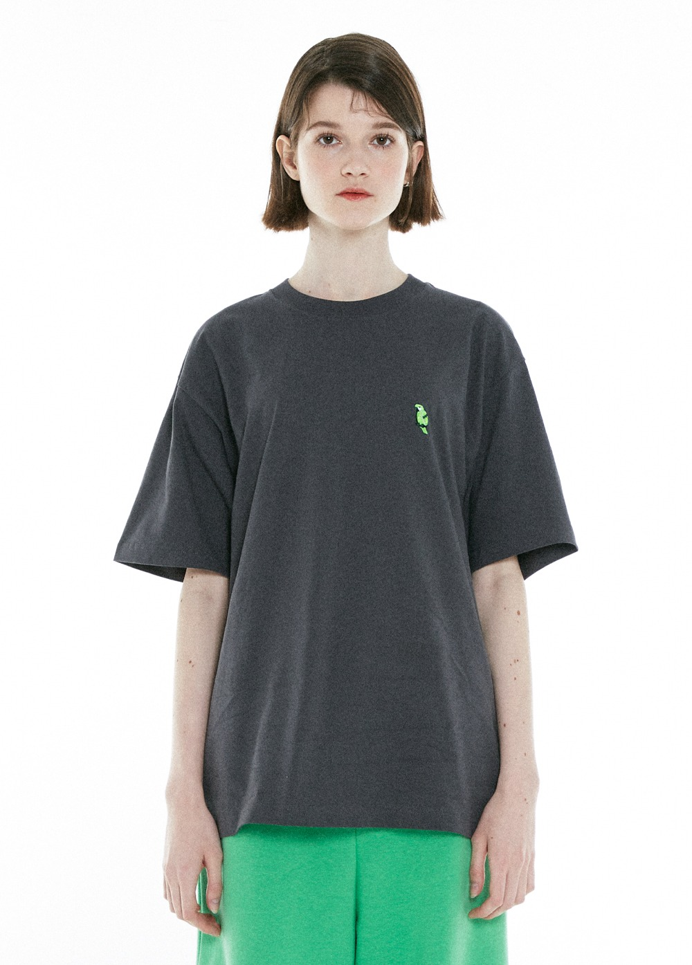 KANCO FULL LOGO TEE charcoal