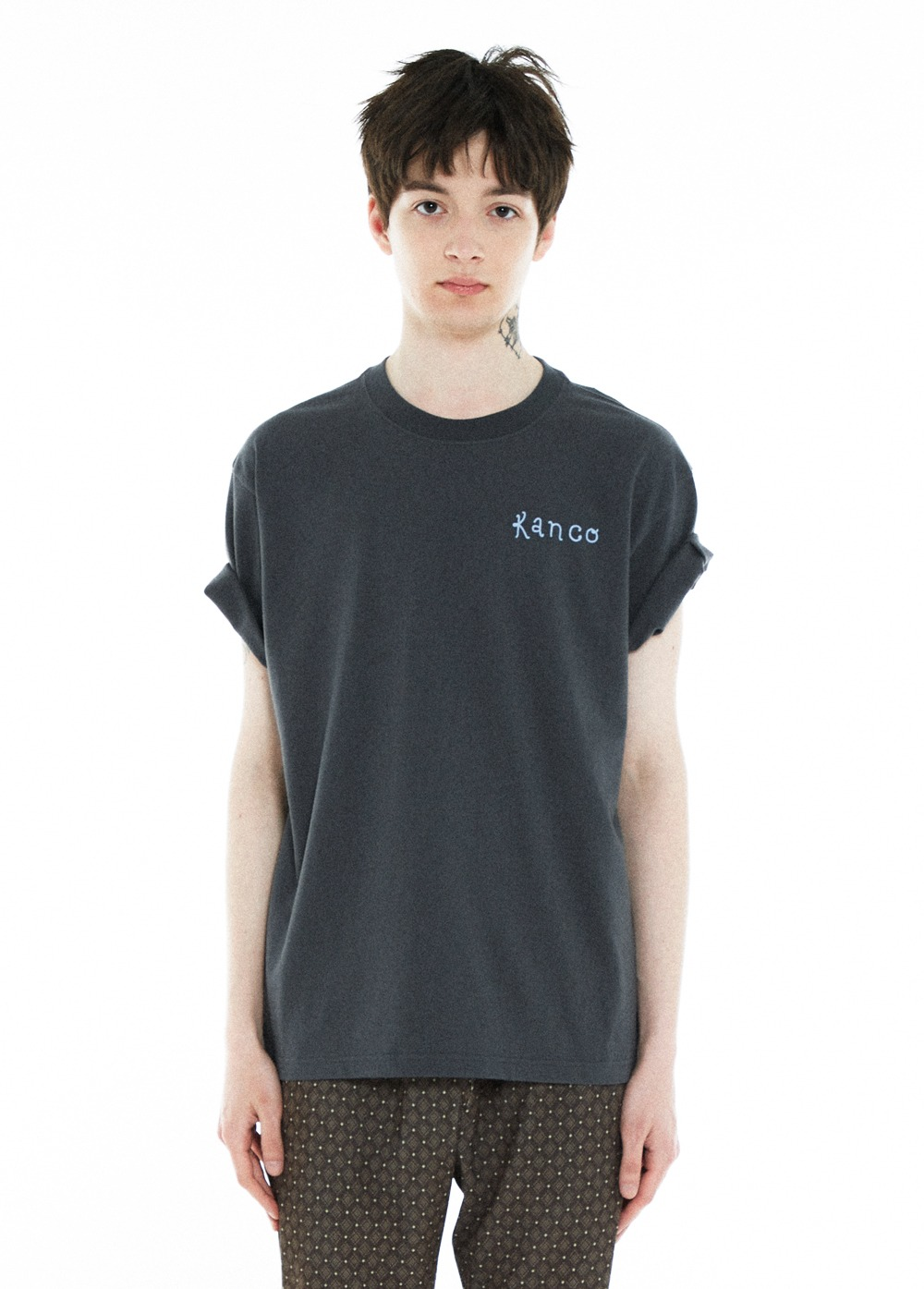KANCO BIRTH DAY TEE dark gray