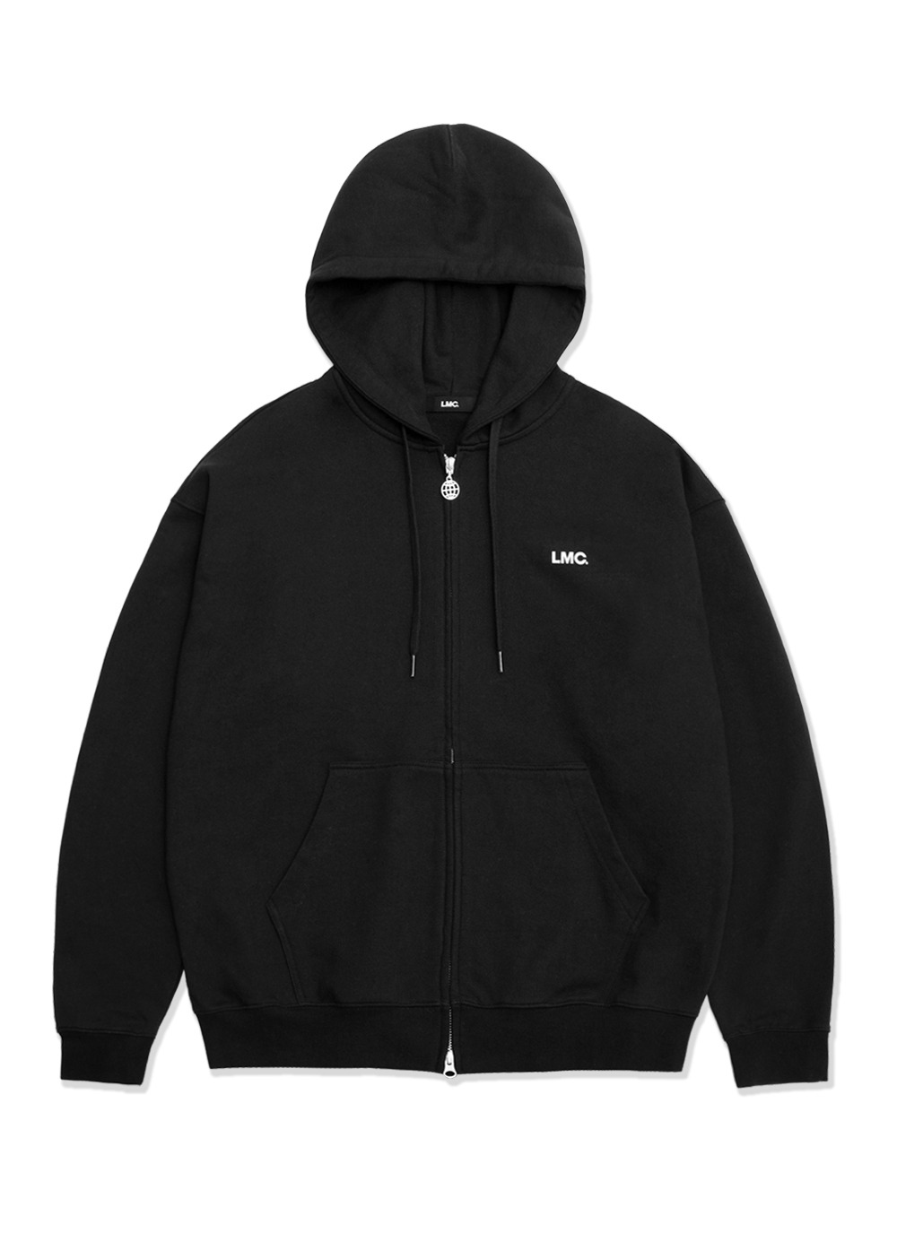 LMC WORKROOM ZIP-UP HOODIE black