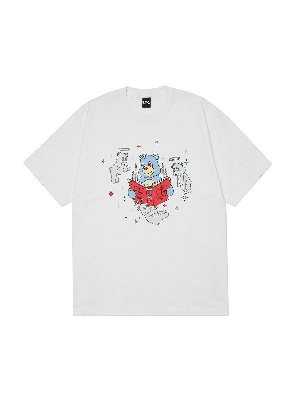 LMC GHOST BEARS TEE white