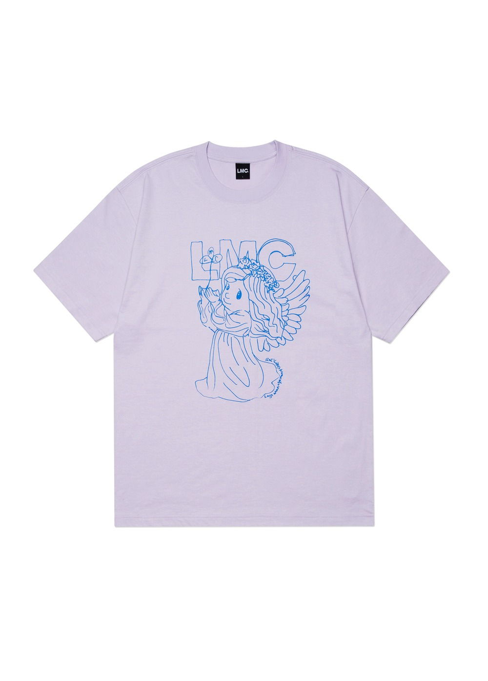 LMC ANGEL TEE purple