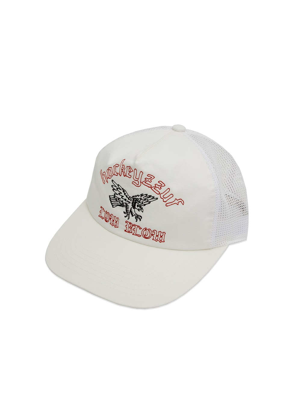 FUZZ X HOCKEY STICK CHOP MESH CAP off white