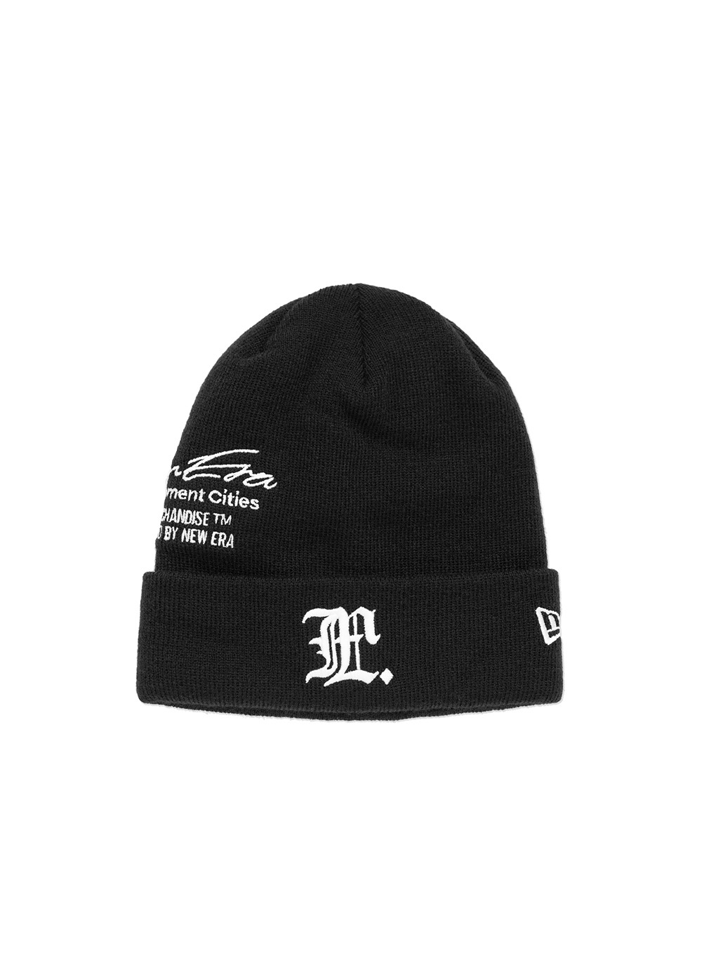 LMC X NEW ERA GOTHIC KNIT BASIC CUFF black