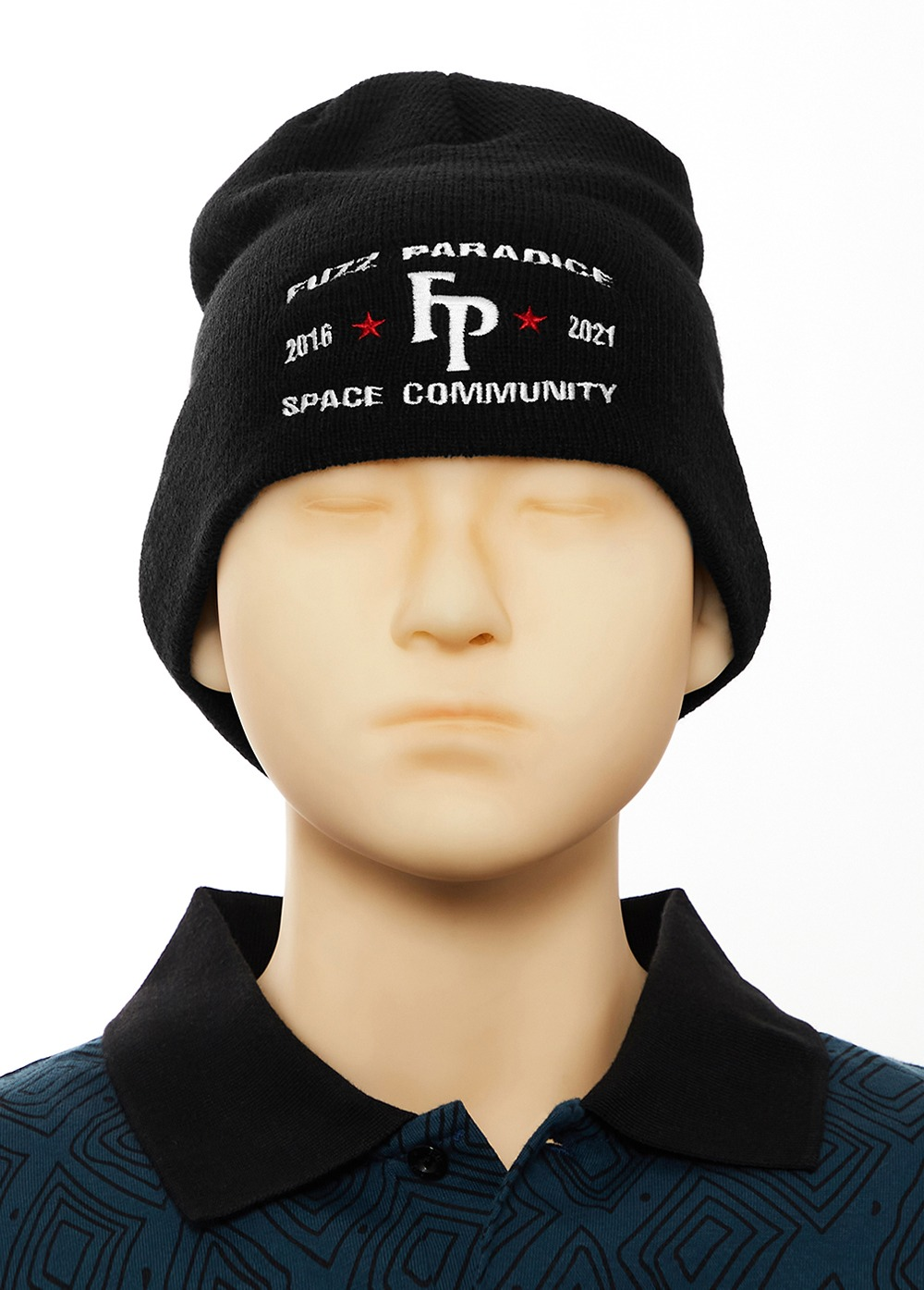 FUZZ CHAMPION BEANIE black