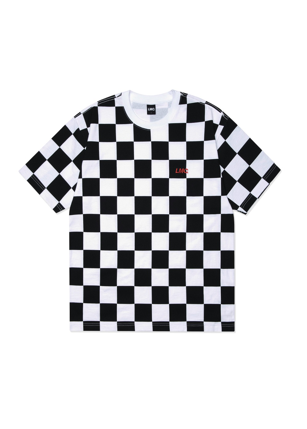 LMC CHECKERBOARD TEE white
