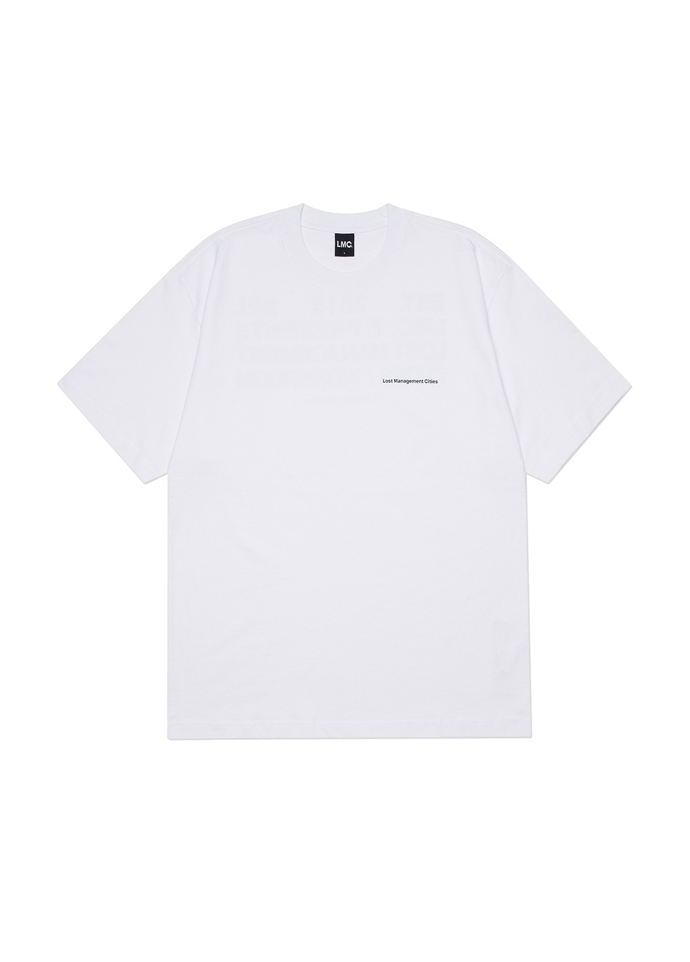 LMC WORKROOM TEE white