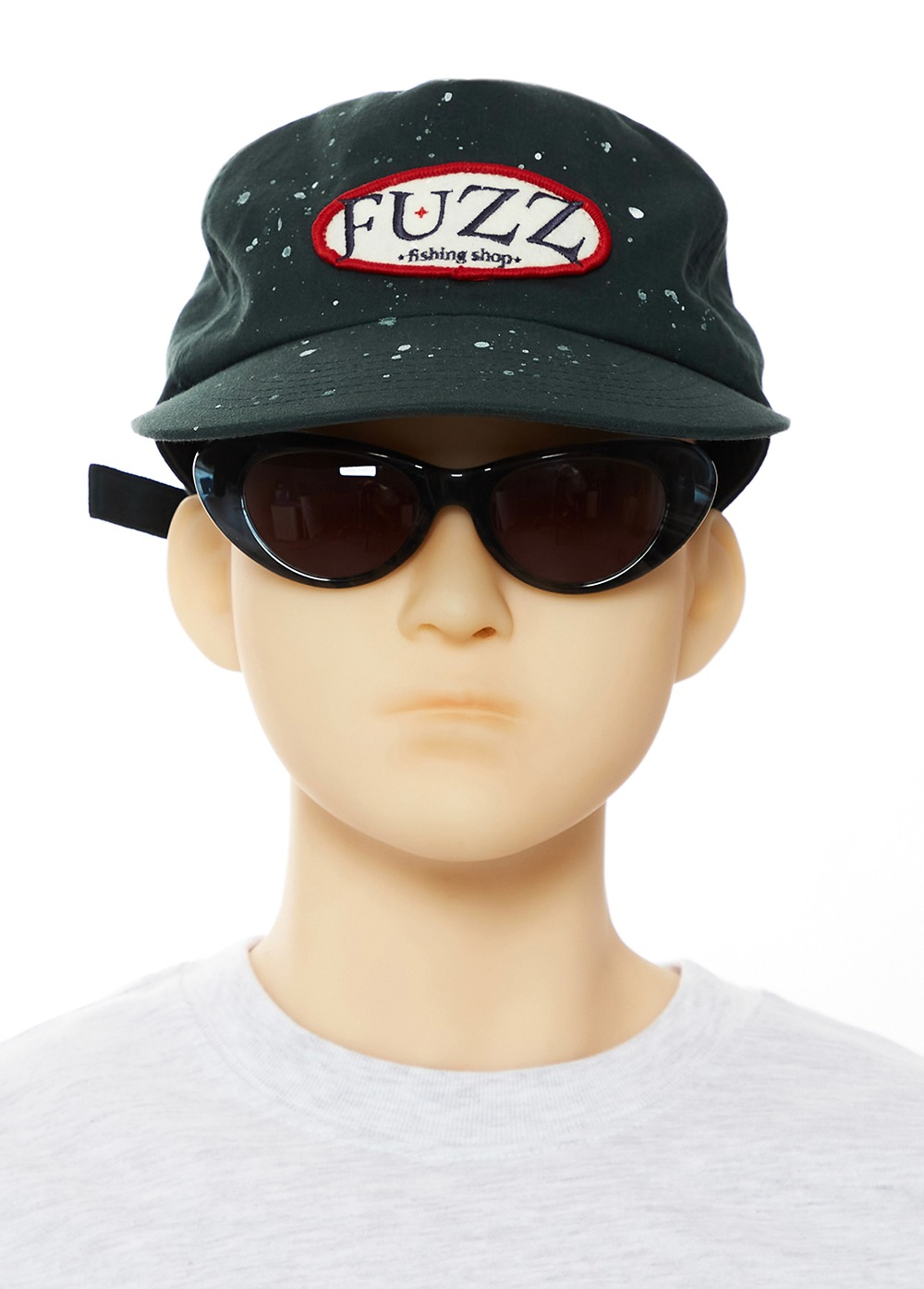 FUZZ FISHING SHOP CAP dark green
