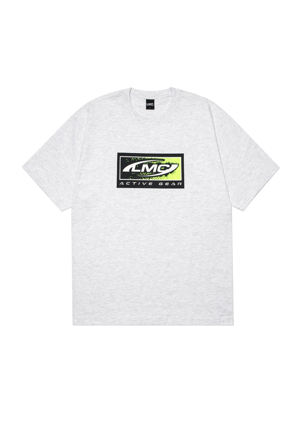 LMC BOX ACTIVE GEAR TEE lt. heather gray