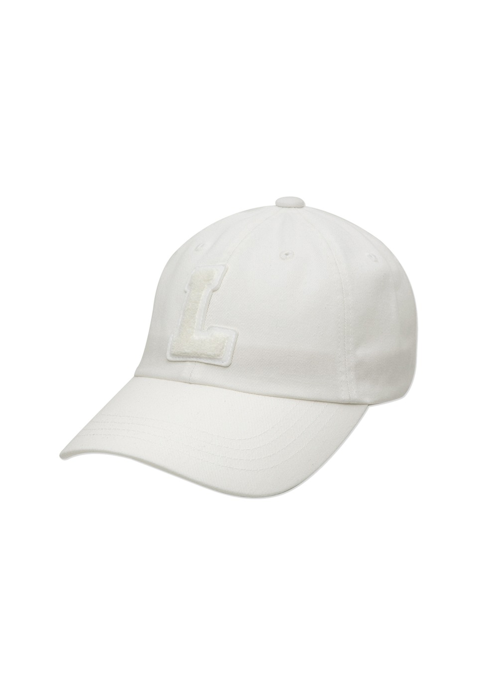 LMC L BOUCLE 6 PANEL CAP cream