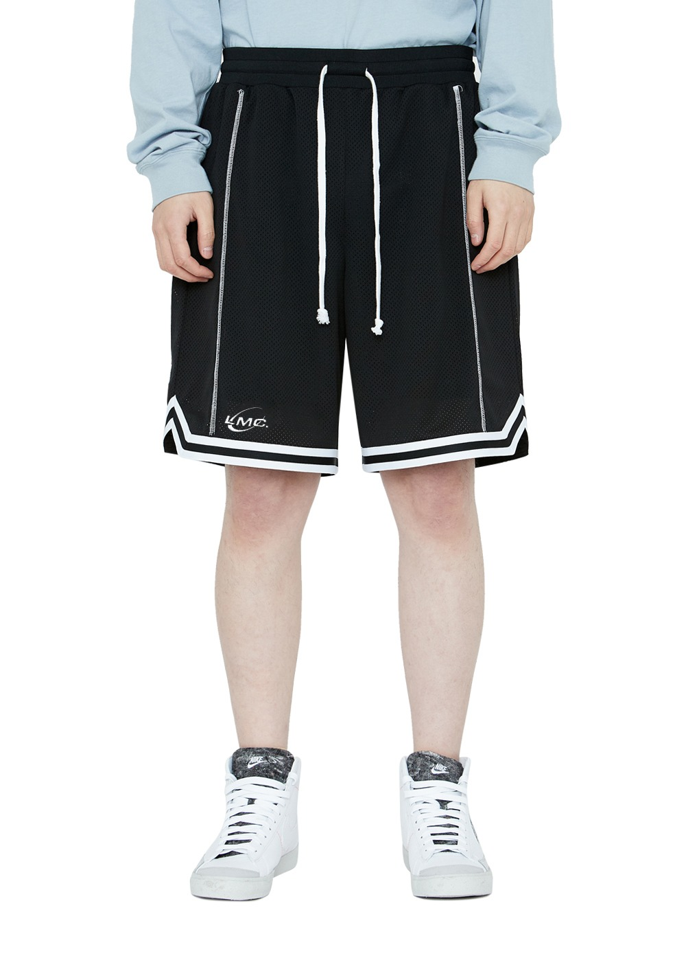 LMC PLANET BASKETBALL SHORTS black