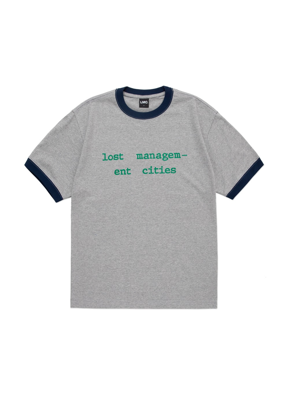 LMC BAND RINGER TEE heather gray