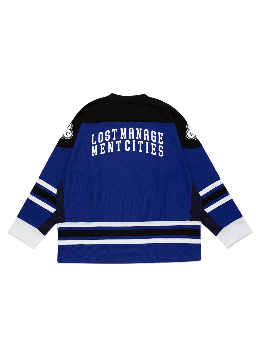 LMC CLUB HOCKEY JERSEY LONG SLV TEE blue