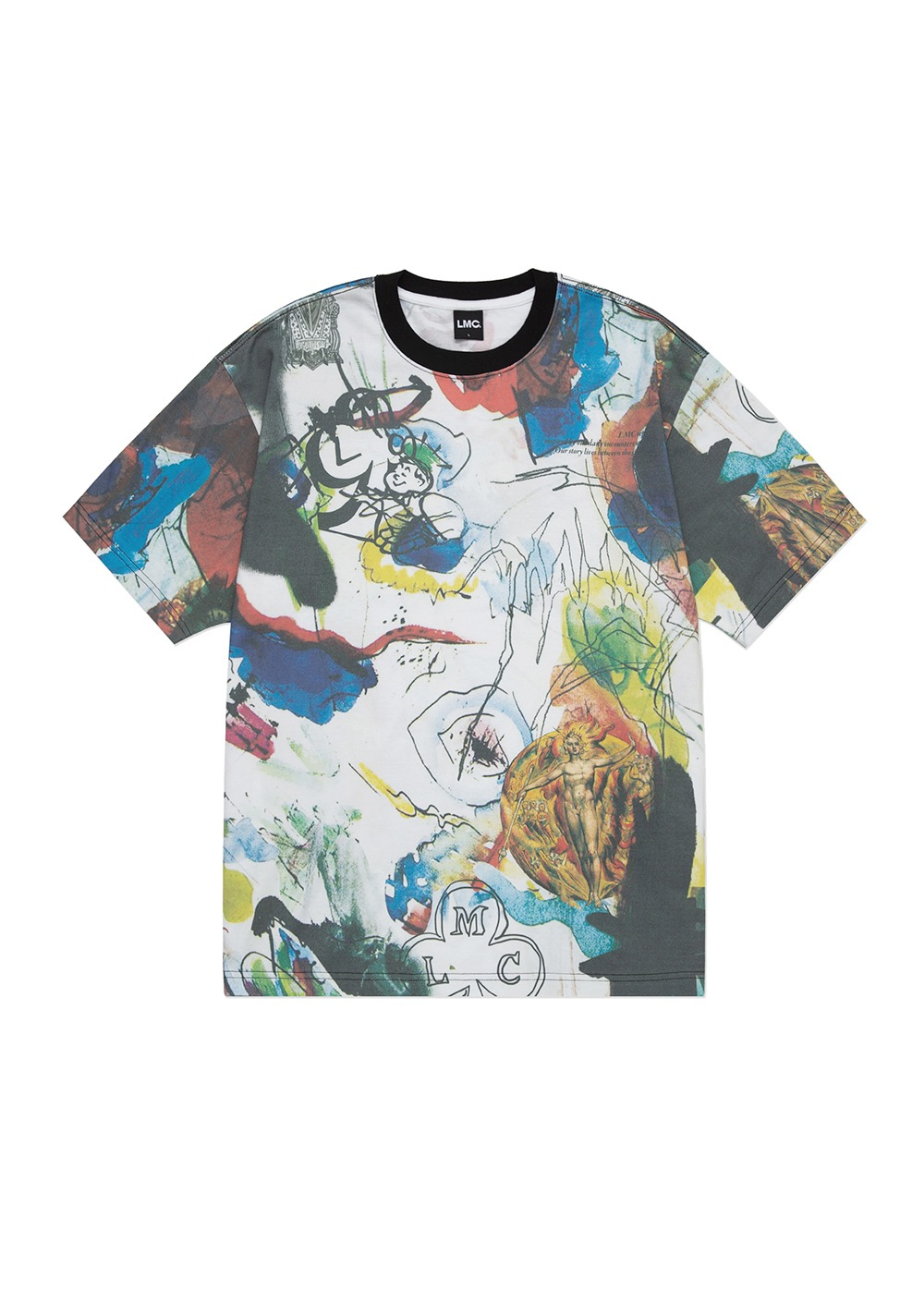 LMC ARTWORKS PAINTING TEE multi