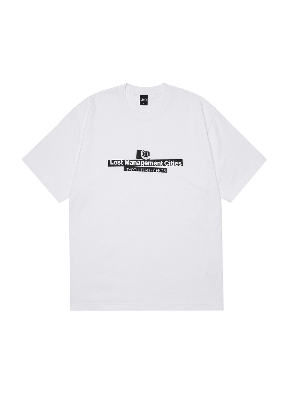 LMC MARKING TEE white