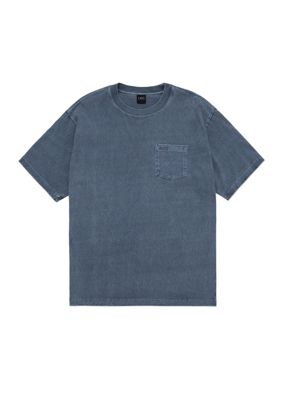 LMC OVERDYED OG POCKET TEE navy