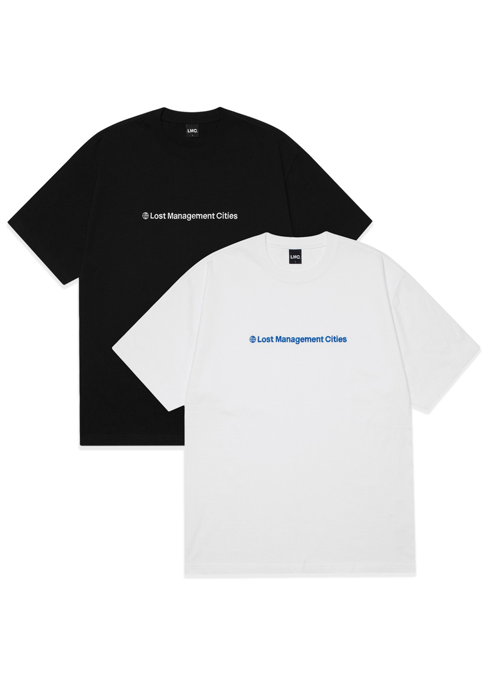 LMC BASIC FN TEE 2PACK white/black